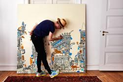 180 x 180 Canvas